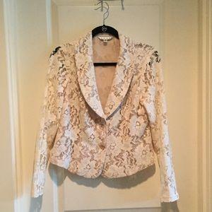 Cabi Floral Lace Blazer